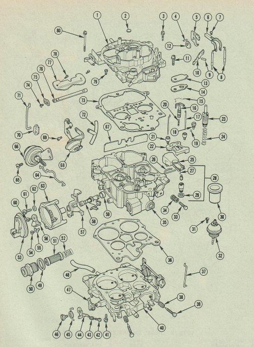 Quadrajet Carburetor Vacuum Diagram Carburetor Gallery
