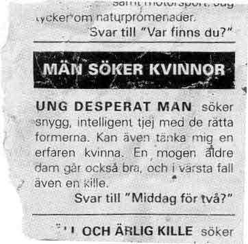 kontaktannonce jokes Høje-Taastrup